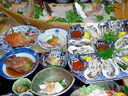 11月から始まる牡蛎コース