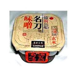 玄米麹の深い味わい「名刀味噌(玄米みそ)」