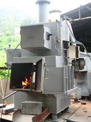 低コストで、地球に優しい焼却炉です。