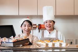 岡山のケーキ店「オランジェ」