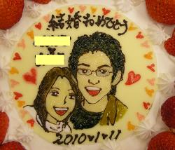 岡山のキャラクターケーキ・キャラケーキ