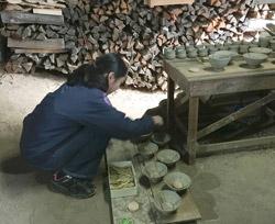 窯焚き・窯詰め体験