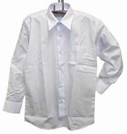 男子長袖カッターシャツ《撥水加工》・110A-185A