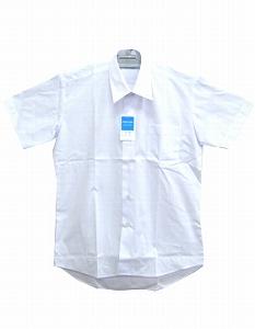 男子半袖カッターシャツ《撥水加工》・110A-185A